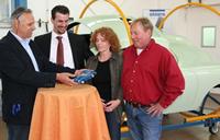 Expertenrunde: B.v.Nolting, T. Kalan, Frau und Herr Gräff